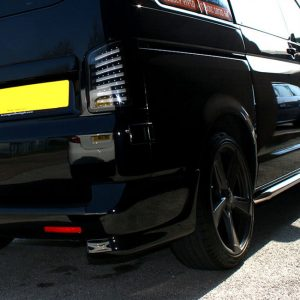 Rear Bumper Corner Spoiler for VW T5 Transporter-0
