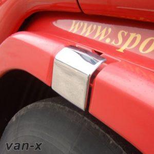 Stainless Steel Door Latch Trims Scania R & 4 Series-0