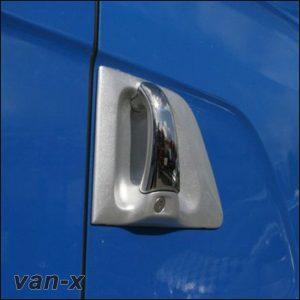 Stainless Steel Door Handle Covers Scania R & 4 Series-3491