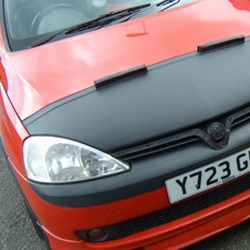 Half Bonnet Bra + Wind Deflectors for Vauxhall Corsa C-19511