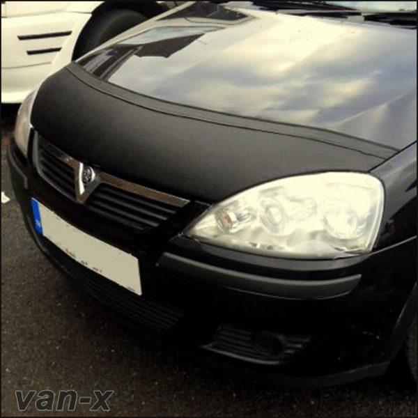 Half Bonnet Bra / Cover Black for Vauxhall Corsa C -2905