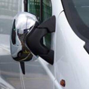 Stainless Steel Mirror Covers for Vauxhall Vivaro-0