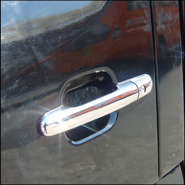 Door Handle Covers (4 Pcs) for Mercedes Sprinter MK2 Stainless Steel -7527