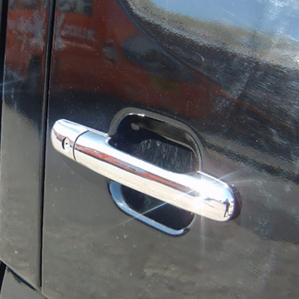 Door Handle Covers (4 Pcs) for Mercedes Sprinter Stainless Steel -8896