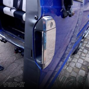 Barndoor Handle Cover for VW T4 Transporter Stainless Steel -0
