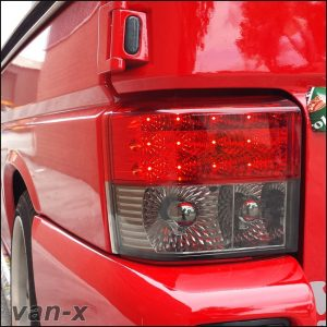 Rear LED Light Unit Smoked / Red for VW T4 Transporter-2984