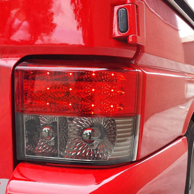 Rear LED Light Unit Smoked / Red for VW T4 Transporter-0