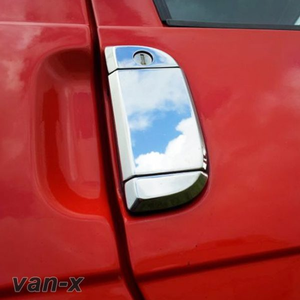 Door Handle Covers (3 Pcs) for VW T4 Transporter Stainless Steel -0