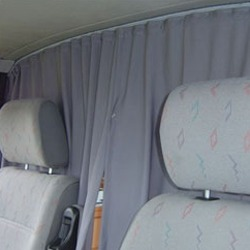 Cab Divider Curtain Kit for VW Crafter -19441