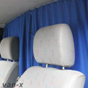 Cab Divider Curtain Kit for VW T4 Transporter-0