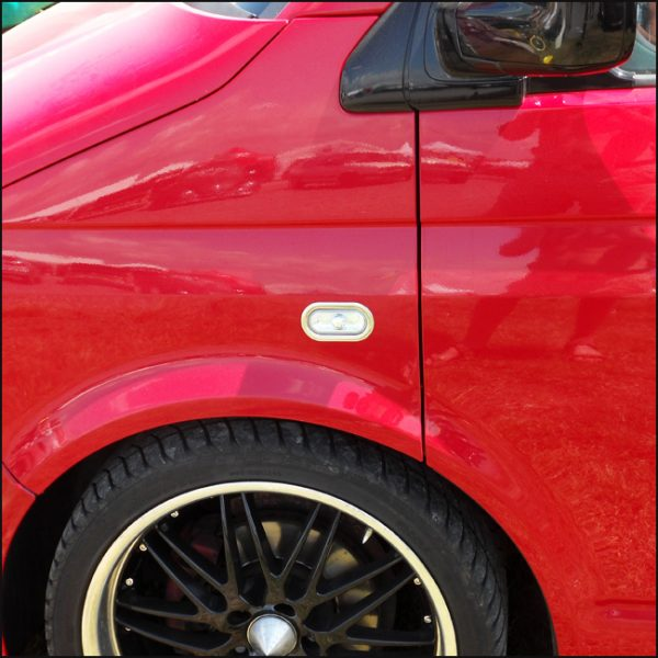 Stainless Steel Indicator Surrounds For VW Caddy-4711