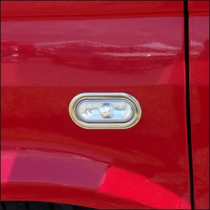 Stainless Steel Indicator Surrounds For VW Caddy-4710