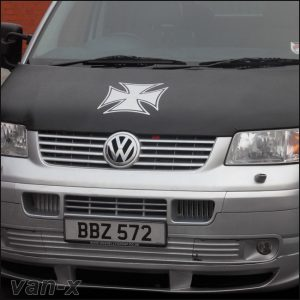 Iron Cross Bonnet Bra / Cover for VW Transporter T5-2688