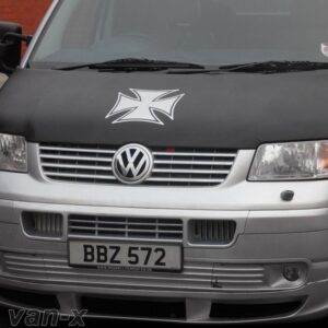 Iron Cross Bonnet Bra / Cover for VW Transporter T5-0