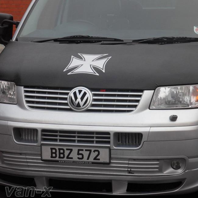 Iron Cross Bonnet Bra / Cover for VW Transporter T5-0