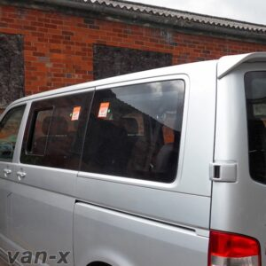 Rear Quarter Window for VW T5 Transporter SWB Smoked Glass-0