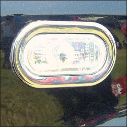 Stainless Steel Indicator Surrounds For VW Caddy-5829