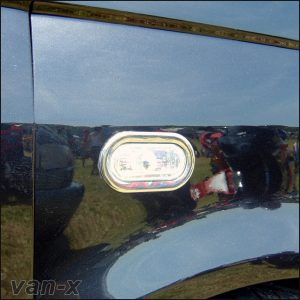 Stainless Steel Indicator Surrounds For VW Caddy-3246