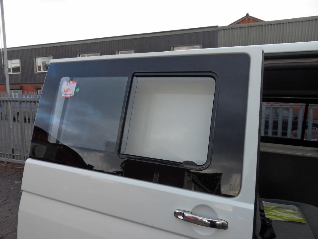 Van X Side Sliding Window Smoked Glass For Vw T5 Transporter