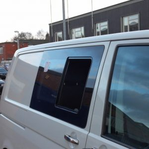 Side SLIDING Window Smoked Glass for VW T5 Transporter-2954
