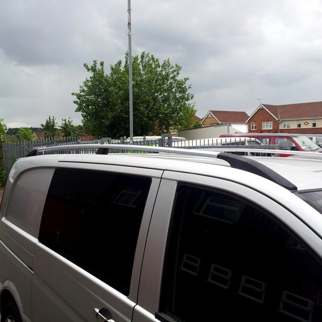 Roof Bars For Mercedes Vito (XLWB ONLY)-3925