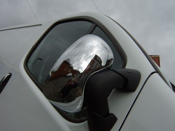 ABS Mirror Covers Chrome for Renault Trafic-1243
