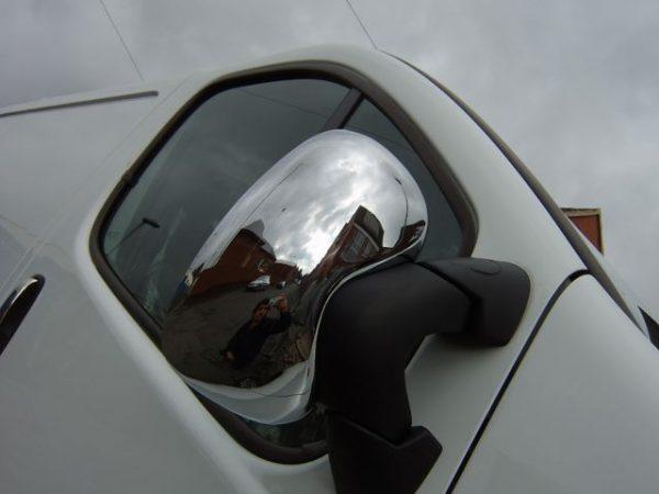 Stainless Steel Mirror Covers for Vauxhall Vivaro-1179