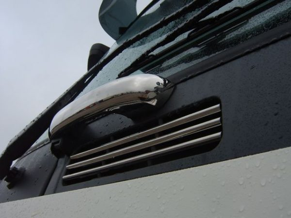 Stainless Steel Front Grab Handle Covers for Volvo FH / FM-3505
