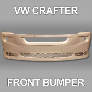 Front Bumper Spoiler for VW Crafter 2010+-4741