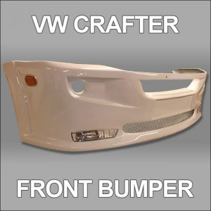 Front Bumper Spoiler for VW Crafter 2010+-4743