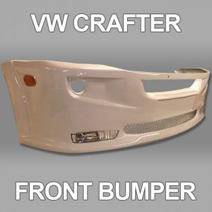 Front Bumper Spoiler for VW Crafter 2010+-19448