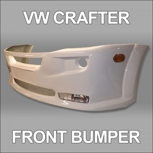 Front Bumper Spoiler for VW Crafter 2010+-4742