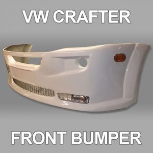 Front Bumper Spoiler for VW Crafter 2010+-0