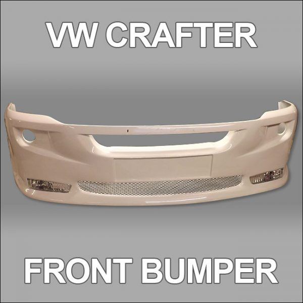 Front Bumper Spoiler for VW Crafter 2010+-4744