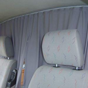 Cab Divider Curtain Kit for VW T4 Transporter-3218