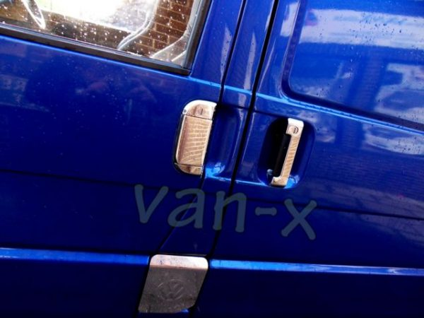 Door Handle Covers (3 Pcs) for VW T4 Transporter Stainless Steel -1493