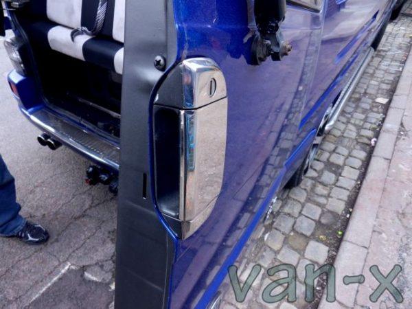 Barndoor Handle Cover for VW T4 Transporter Stainless Steel -3208