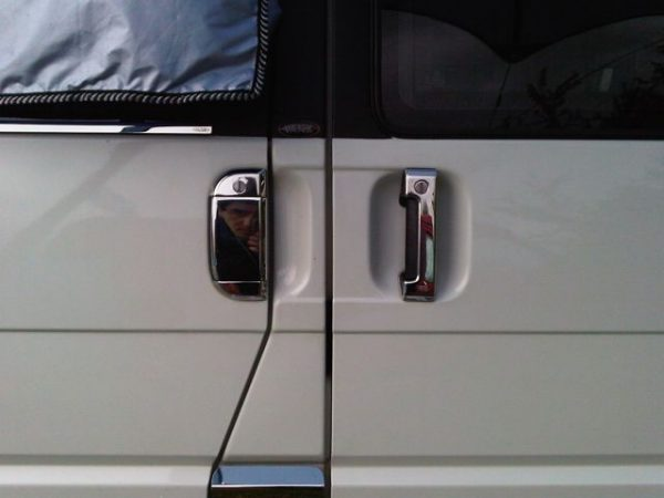Door Handle Covers (3 Pcs) for VW T4 Transporter Stainless Steel -1498