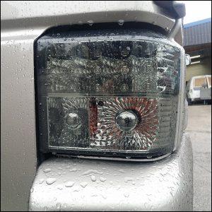 Rear LED Light Unit Smoked / Chrome for VW T4 Transporter-7416