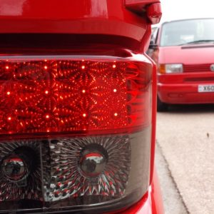 Rear LED Light Unit Smoked / Red for VW T4 Transporter-2982