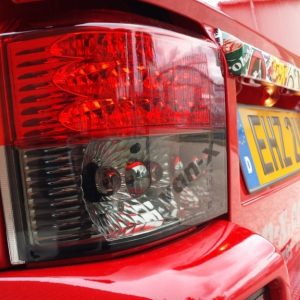 Rear LED Light Unit Smoked / Red for VW T4 Transporter-2983