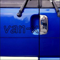Barndoor Handle Cover for VW T4 Transporter Stainless Steel -5850