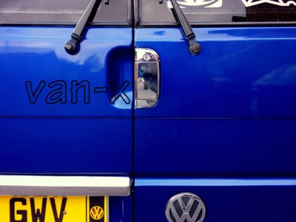 Barndoor Handle Cover for VW T4 Transporter Stainless Steel -958