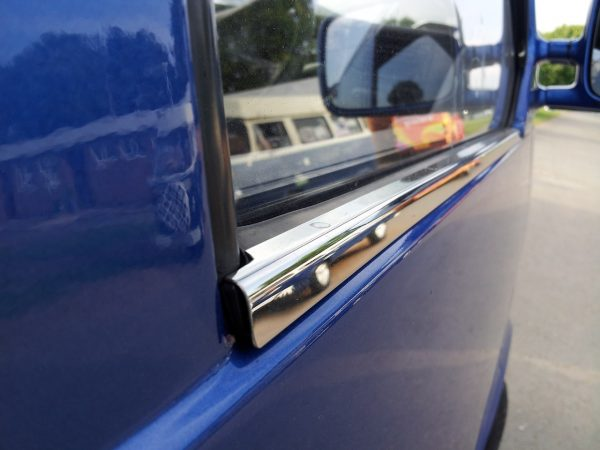 Window Sill Trims For VW T4 Transporter Stainless Steel -1544