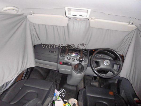 Front Cab Curtain for VW T5 / T6 Transporter Premium-line-19416