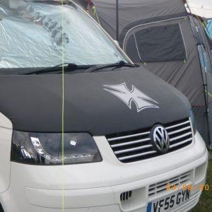 Iron Cross Bonnet Bra / Cover for VW Transporter T5-2567