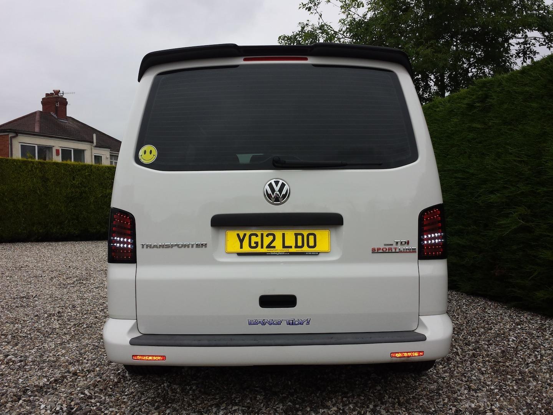 Van X Roof Spoiler For Tailgate Vw T5 T5 1 Transporter