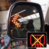 LED Wing Mirror Lens for VW T5 Non-Heated-0