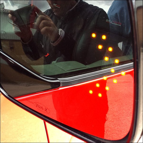 LED Wing Mirror Lens for VW T4 Non-Heated-7422