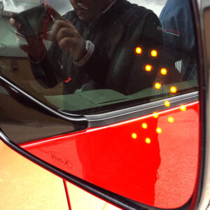LED Wing Mirror Lens for VW T4 Non-Heated-0